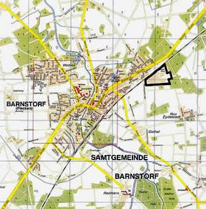 Umgebungskarte der Hülsmeyer-Kaserne